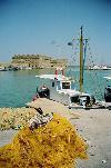 Die Festung der Altstadt von Heraklion
