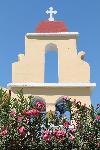 Der Glockenturm der Kirche von Ag. Stefanos (Korfu)