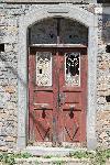 Eine alte Tür im oberen Milatos